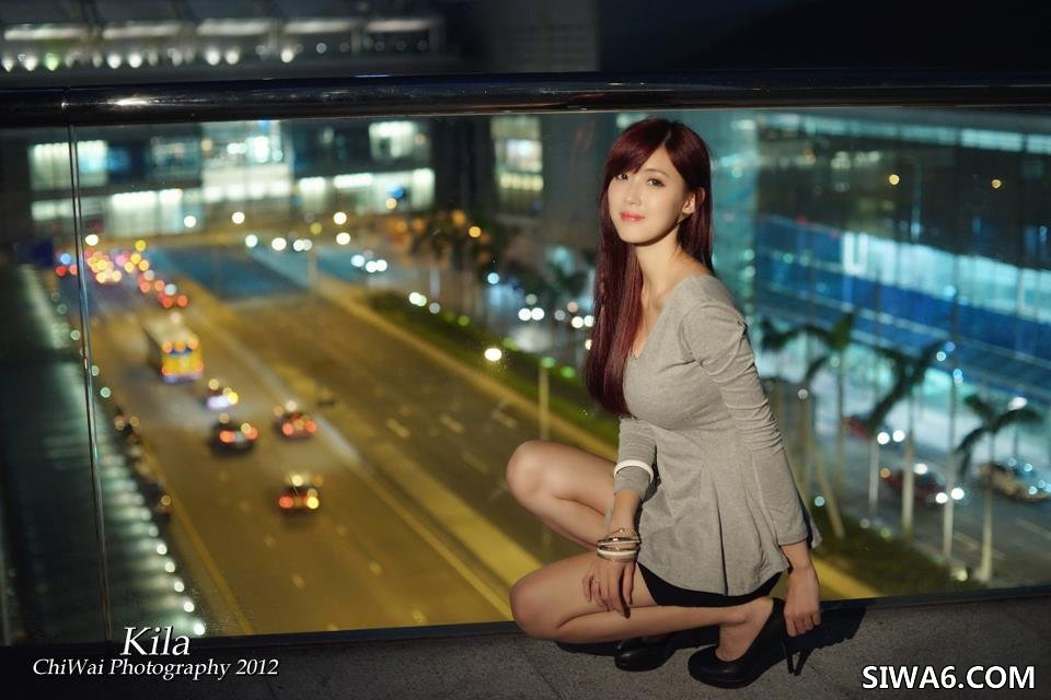 Beautyleg小雪winnie&晶晶香港外拍 中环夜拍